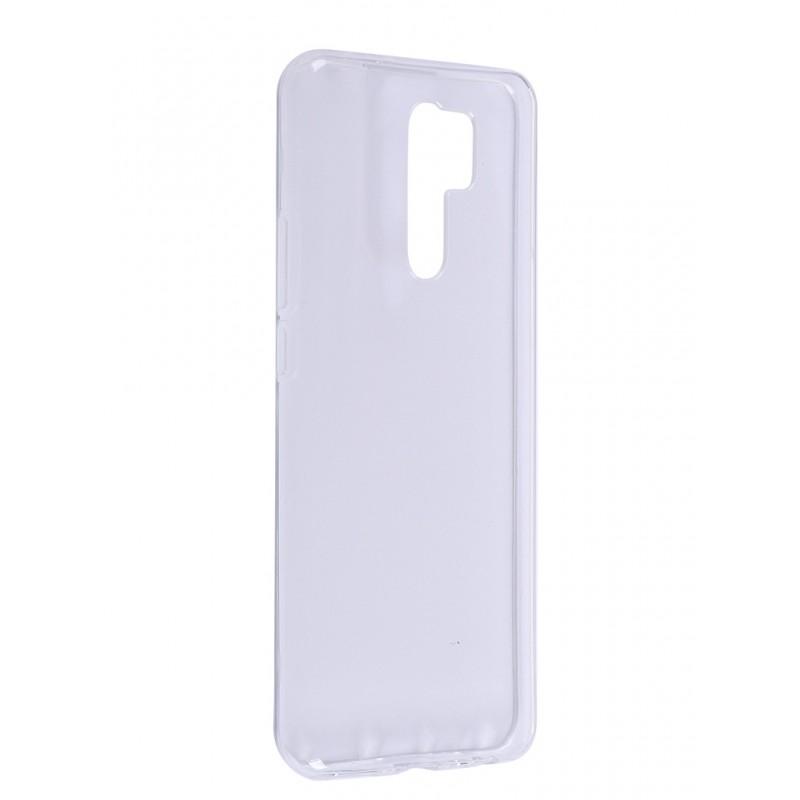 Чехол Zibelino для Xiaomi Redmi 9 Ultra Thin Case Transparent ZUTC-XMI-RDM-9-WHT