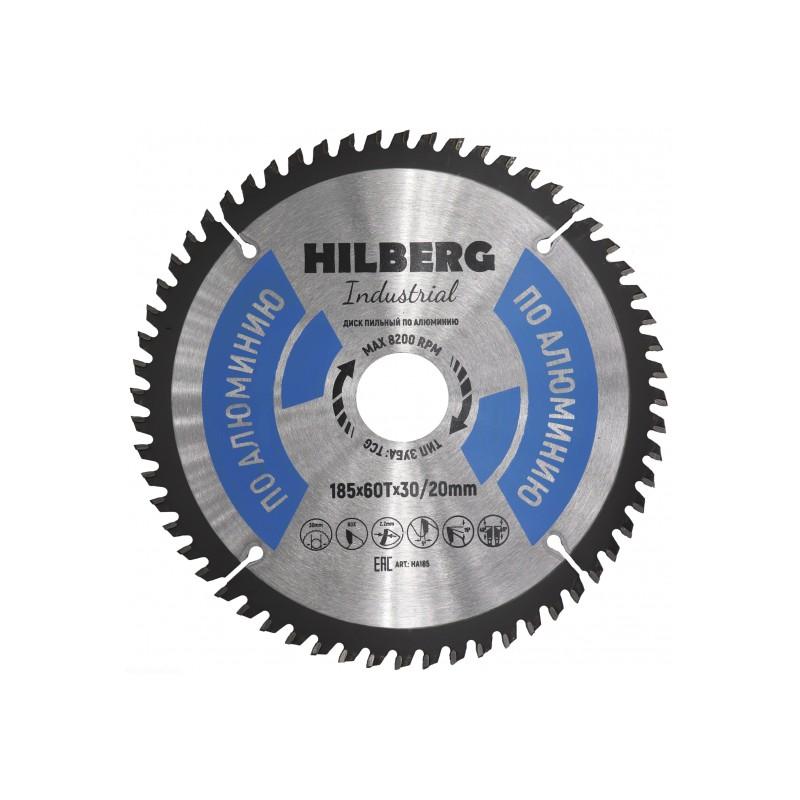 Диск Trio Diamond Hilberg Industrial HA185 пильный по алюминию 185x30/20mm 60 зуба
