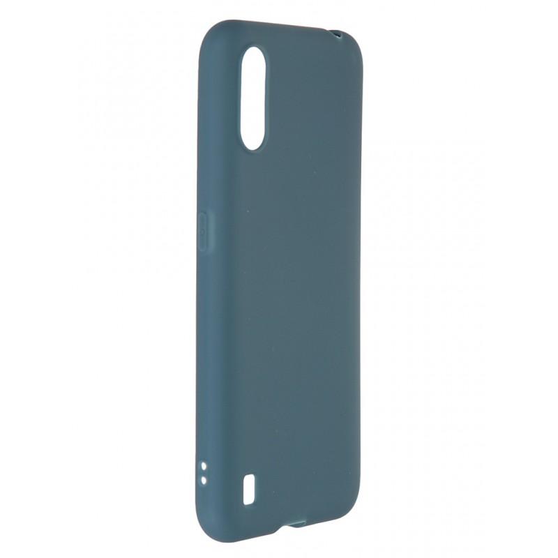 Чехол Neypo для Samsung Galaxy A01 / M01 2020 Soft Matte Grey Green NST20310