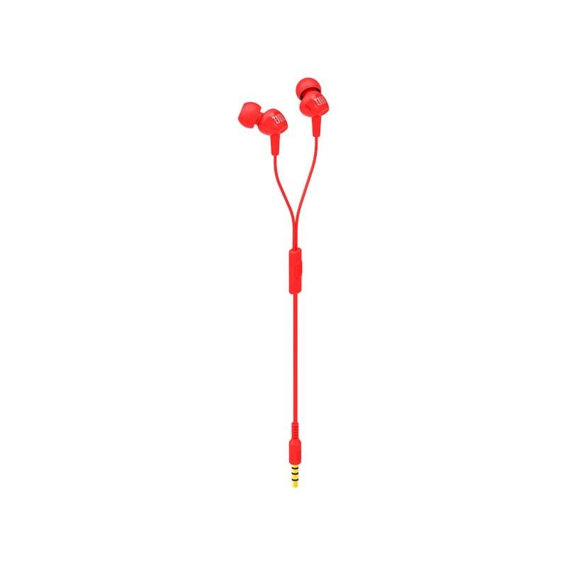 Наушники JBL C100SI Red