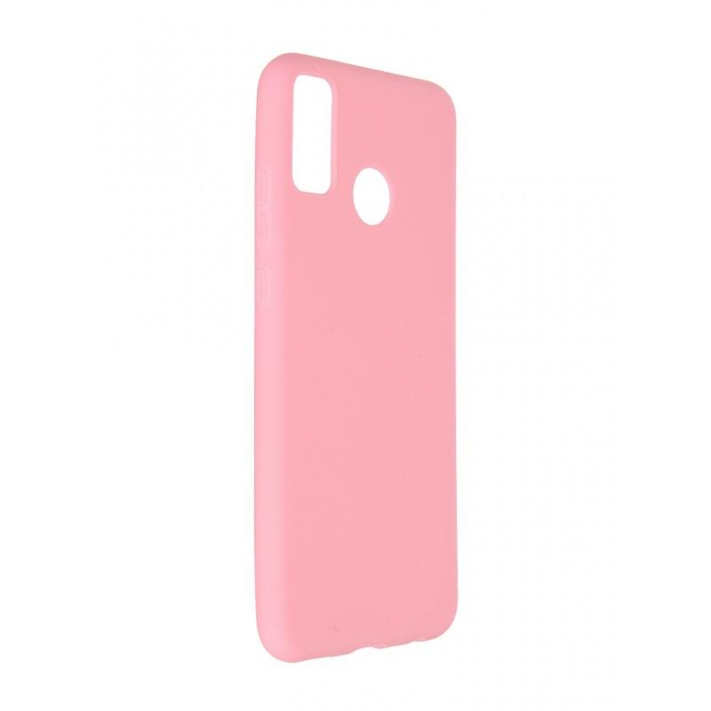 Чехол Neypo для Honor 9X Lite Soft Matte Silicone Pink NST20418