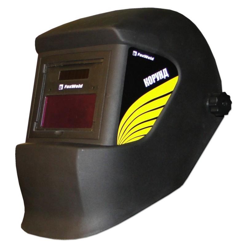 Маска сварщика FoxWeld Корунд (4201) Black