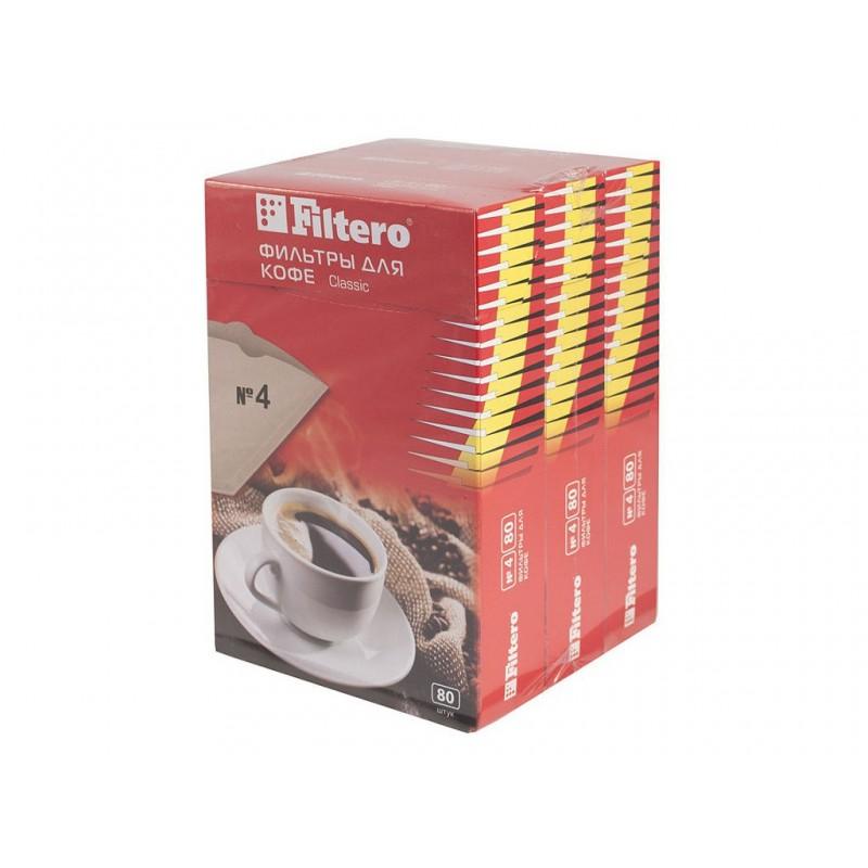 Фильтр-пакеты Filtero Classic №4 240шт