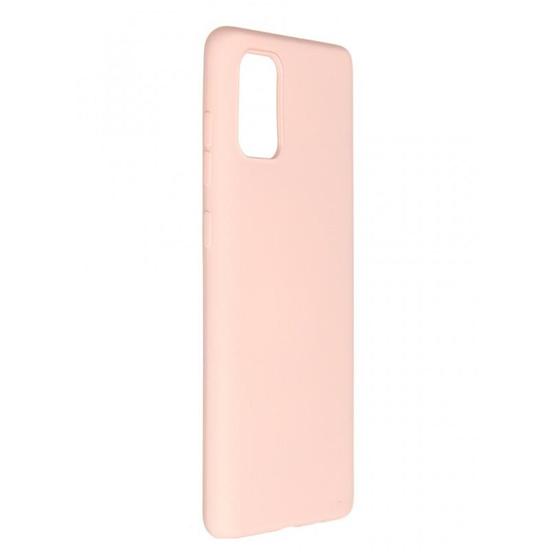 Чехол Pero для Samsung Galaxy A71 Liquid Silicone Pink PCLS-0015-PK