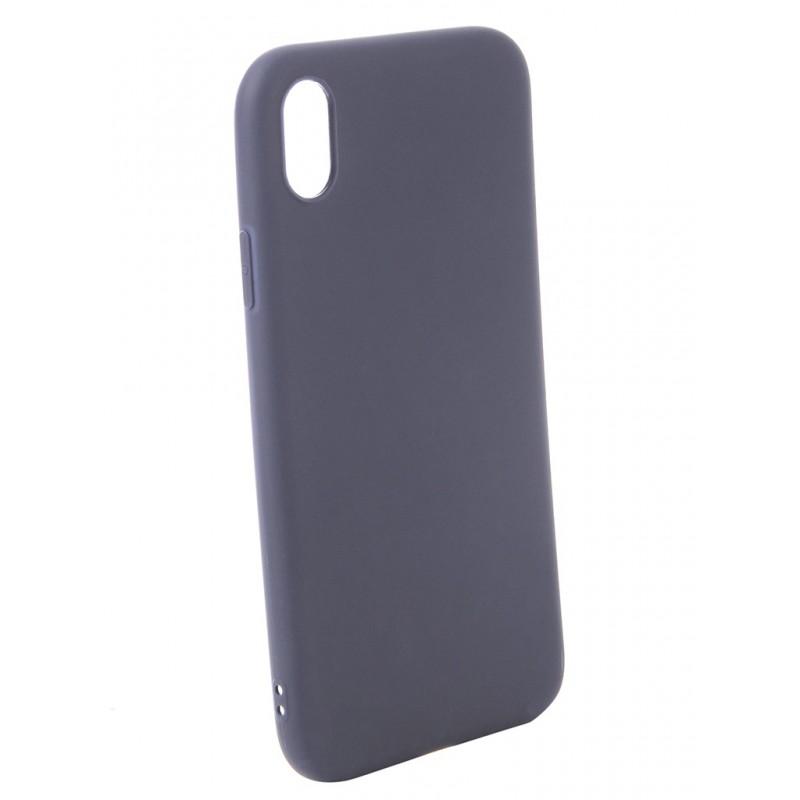 Аксессуар Чехол Zibelino для APPLE iPhone XR Soft Matte Blue ZSM-APL-XR-BLU