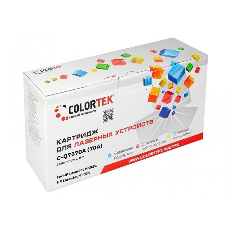 Картридж Colortek (схожий с HP Q7570A) для HP LaserJet M-5025/5035