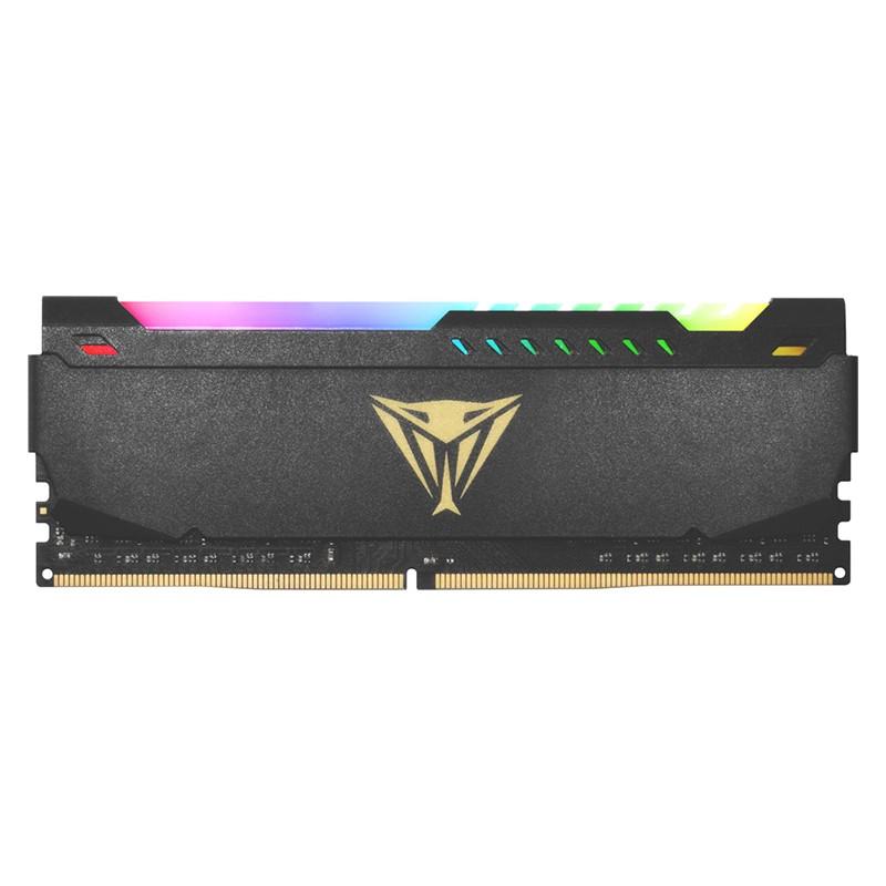 Модуль памяти Patriot Memory Viper Steel RGB DDR4 DIMM 3600MHz PC4-28800 CL20 - 16Gb PVSR416G360C0