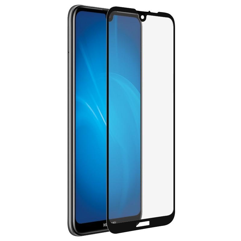 Аксессуар Защитное стекло для Huawei Y6/Y6 Pro/Y6 Prime 2019 Svekla Full Glue Black ZS-SVHWY62019-FGBL