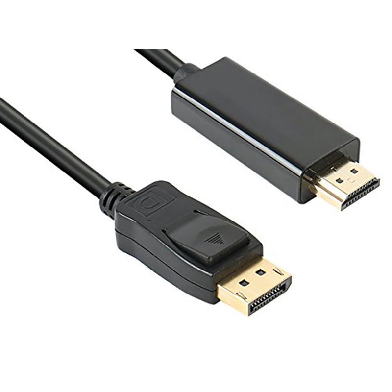 Аксессуар Orient C706 DisplayPort M - HDMI M 1.8m Black