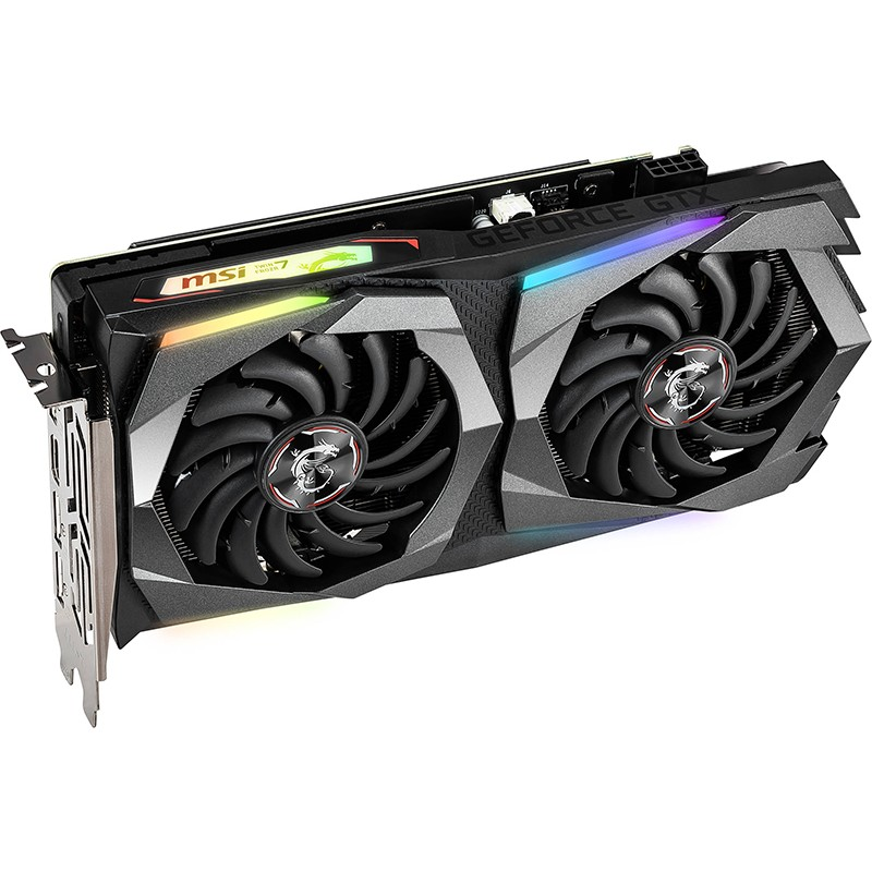 Видеокарта MSI GeForce GTX 1660 Super Gaming X 1830Mhz PCI-E 3.0 6144Mb 14000Mhz 192 bit 3xDP HDMI HDCP GTX 1660 SUPER GAMING X