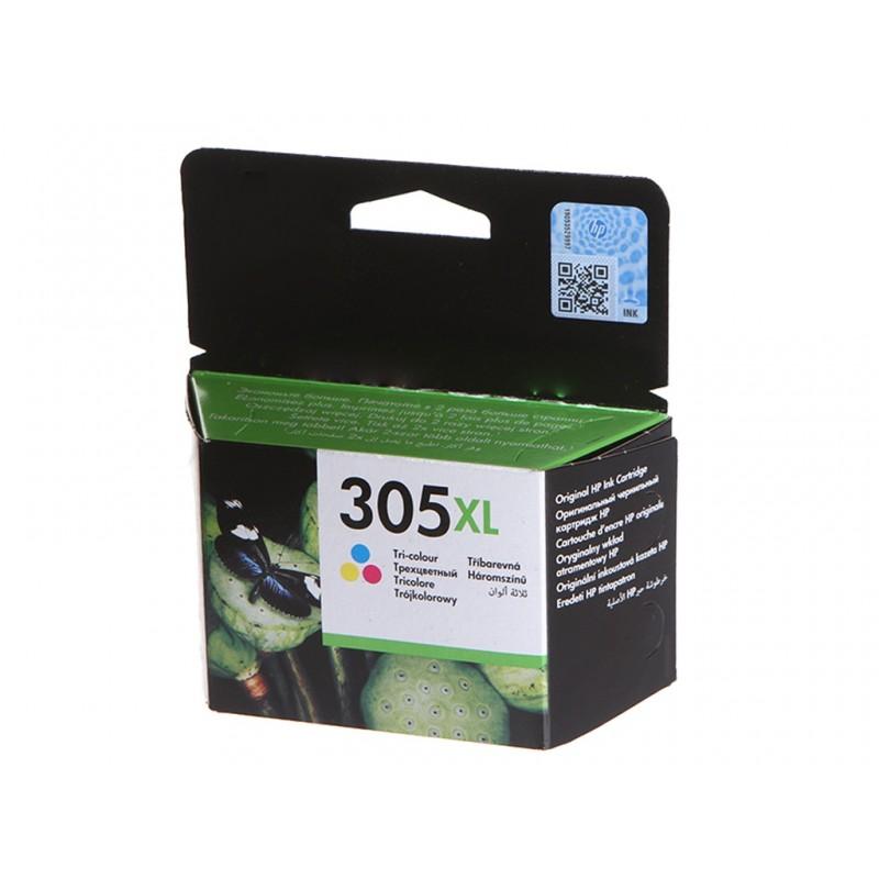 Картридж HP 305XL Tri-Colour 3YM63AE для Deskjet 2320/2710/2720/2721/2723/Plus 4120/4122/4130