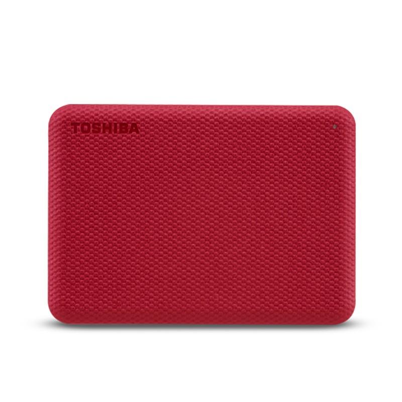 Жесткий диск Toshiba Canvio Advance 4Tb Red HDTCA40ER3CA