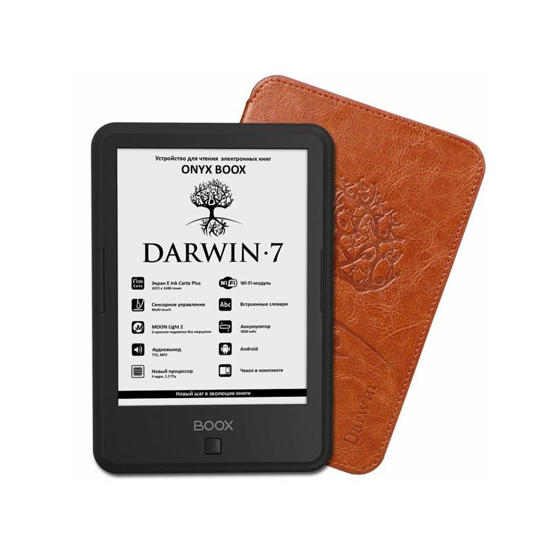 Электронная книга Onyx Boox Darwin 7 Black Выгодный набор + серт. 200Р!!!