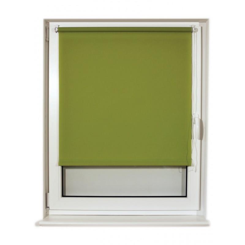 Штора рулонная Brabix 50x175cm Green S-32 / 605974