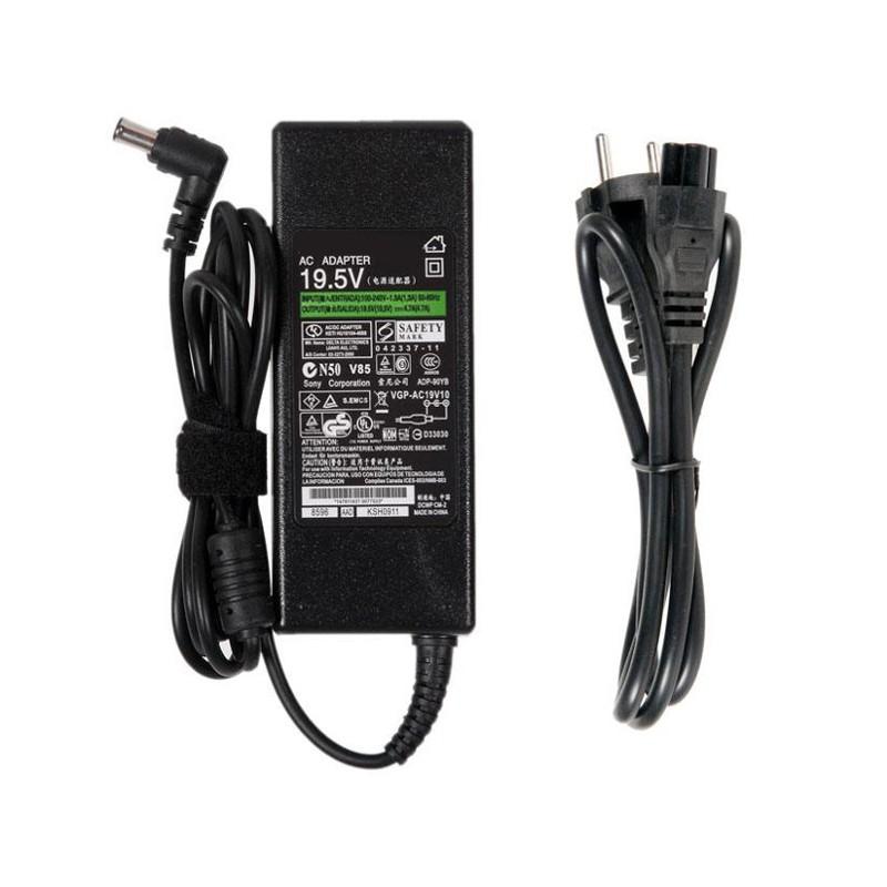 Блок питания RocknParts Zip 19.5V 4.7A 90W для Sony Vaio VGN-SZ/FZ/CR/FS/FE/FJ/S3/S4/S5/BX 365525