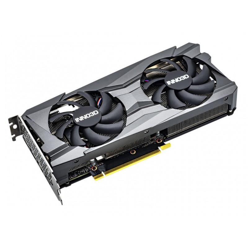 Видеокарта Inno3D GeForce RTX 3060 Twin X2 OC 12GB 1792MHz PCI-E 4.0 12288Mb 15000MHz 192 bit DVI HDMI 3xDP N30602-12D6X-11902120