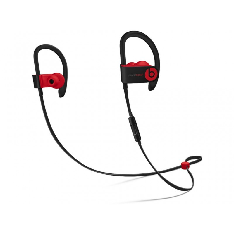 Beats Powerbeats3 Wireless Earphones Decade Collection Defiant Black-Red MRQ92EE/A