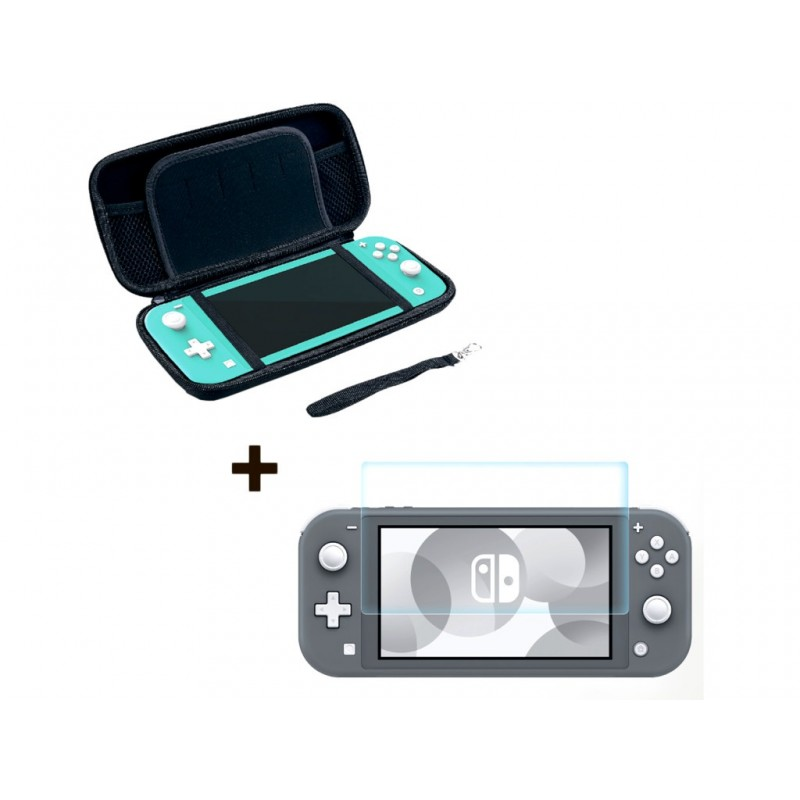Чехол и защитная пленка Artplays для Nintendo Switch Lite NSL-B03