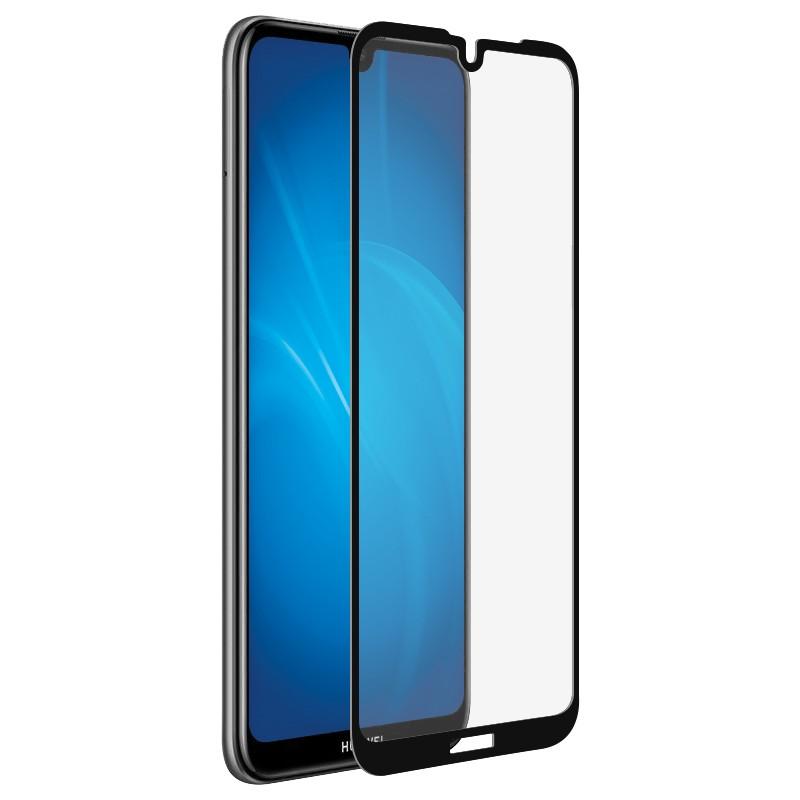 Защитное стекло Media Gadget для Huawei Y7 2019 2.5D Full Cover Glass Full Glue Black Frame MGFCHY7P19FGBK