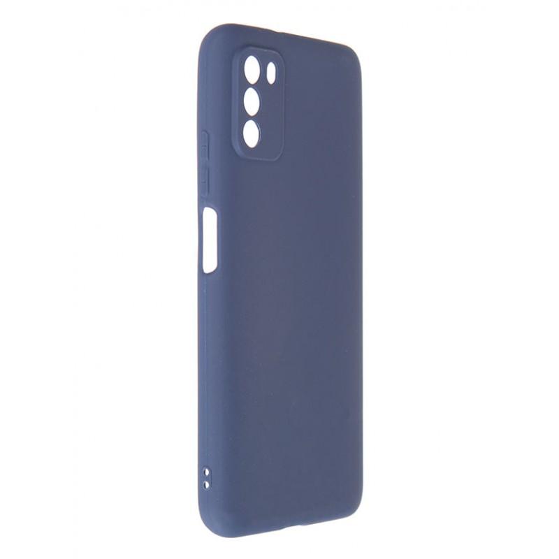 Чехол Neypo для Xiaomi Poco M3 Soft Matte Silicone Dark Blue NST20792