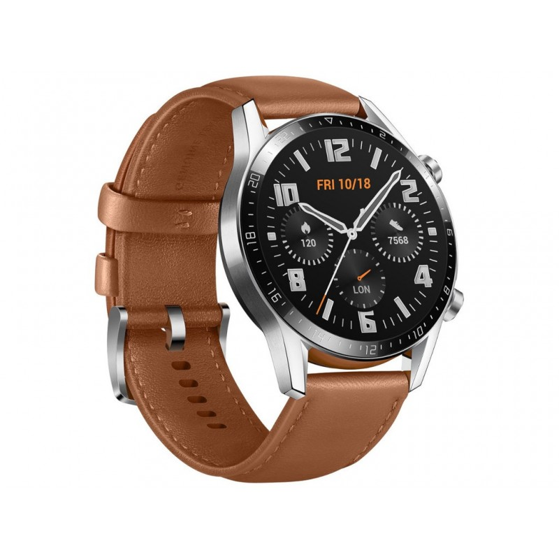 Умные часы Huawei Watch GT 2 Classic 46mm, Latona-B19V Pebble Brown 55024334