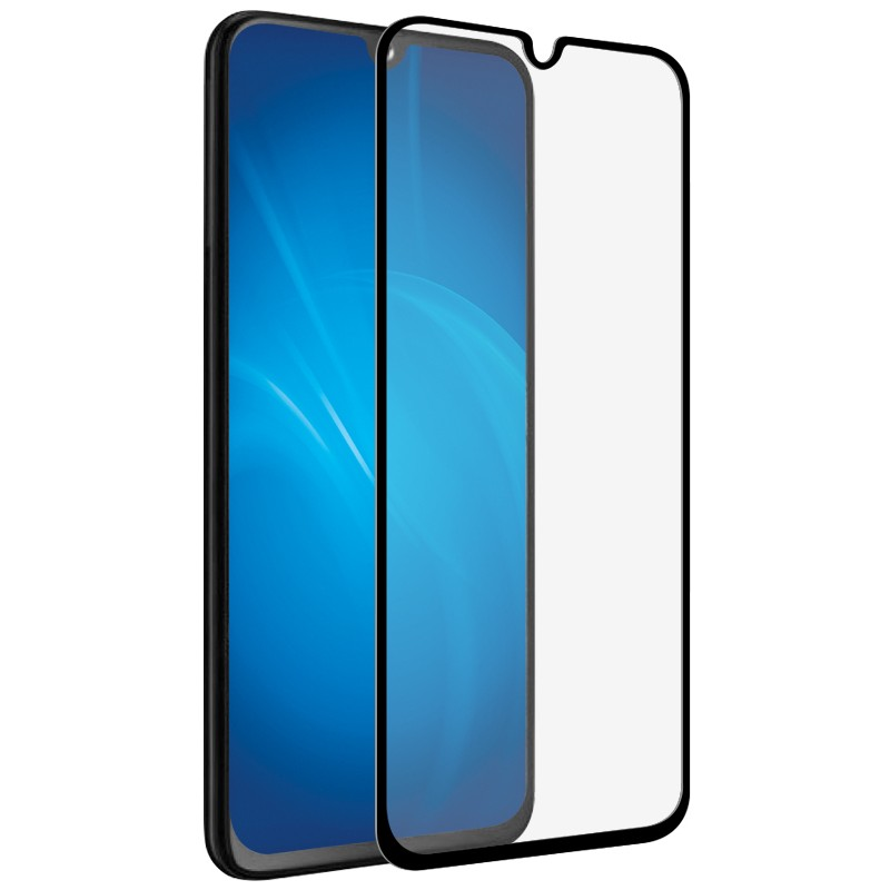 Защитное стекло Zibelino для Samsung A12 5D Black ZTG-5D-SAM-A125-BLK