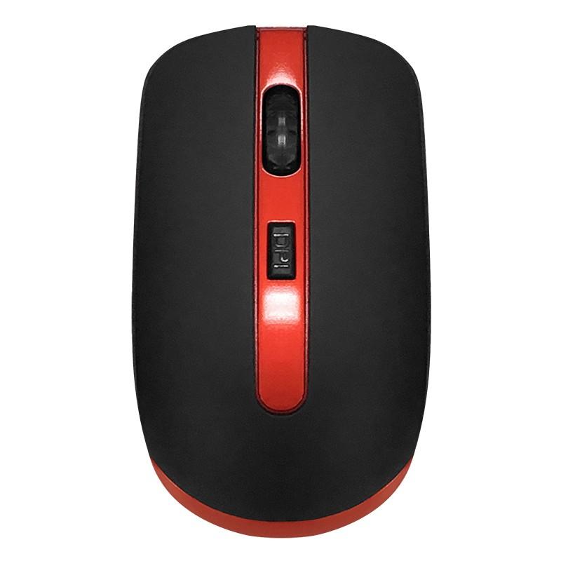 Мышь CBR CM 554R Black-Red