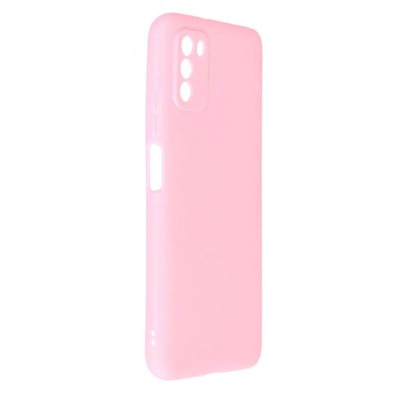 Чехол Neypo для Xiaomi Poco M3 Soft Matte Silicone Pink NST20790