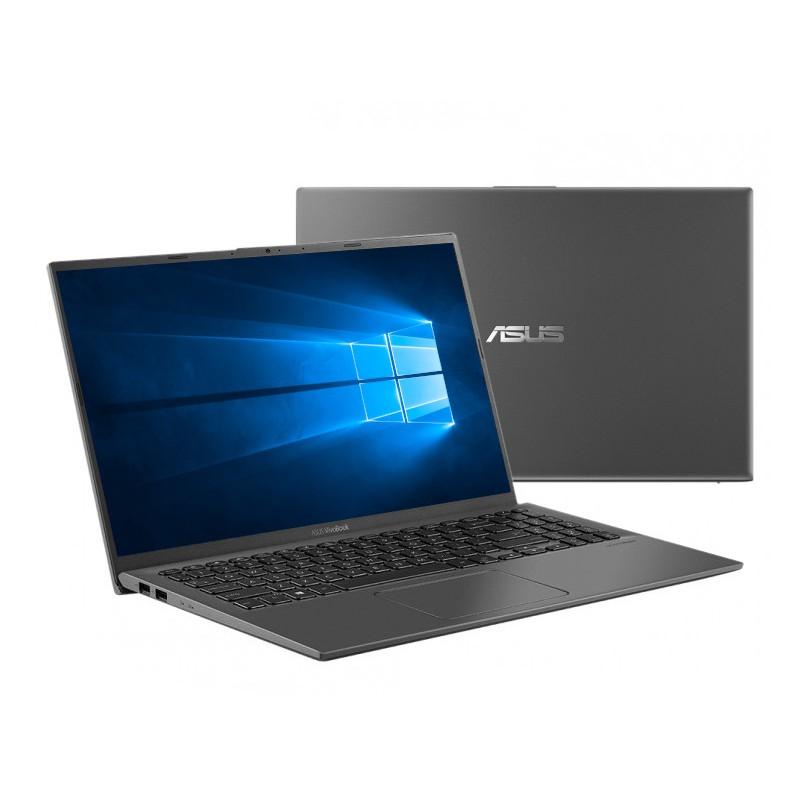 Ноутбук ASUS VivoBook 15 X512JA-BQ1047T 90NB0QU3-M15070 (Intel Core i5-1035G1 1.0GHz/8192Mb/512Gb SSD/Intel HD Graphics/Wi-Fi/Bluetooth/Cam/15.6/1920x1080/Windows 10 Home)