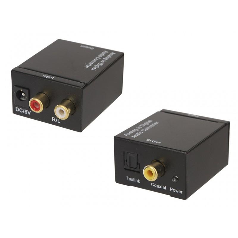 Цифровой конвертер Espada RCA Analog to S/PDIF Digital EDH-RS 43261