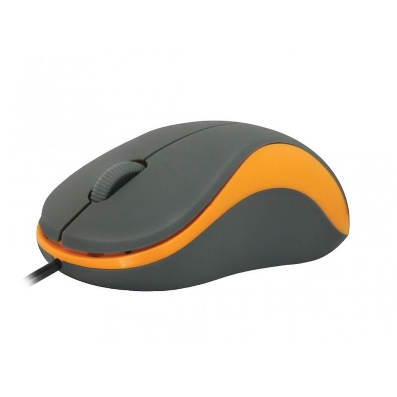Мышь Defender Accura MS-970 Grey-Orange 52971