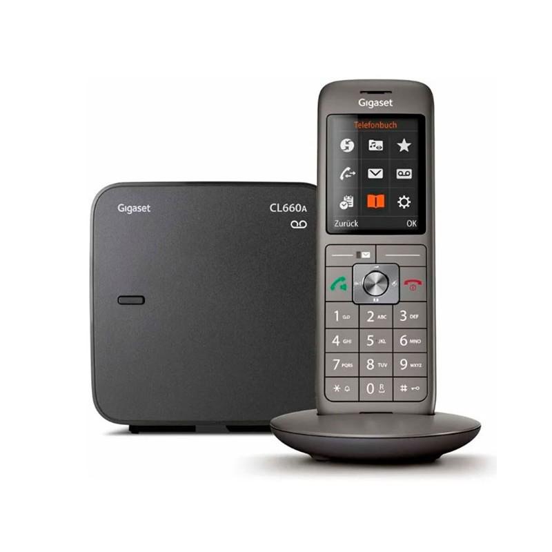 Радиотелефон Gigaset CL660A Black
