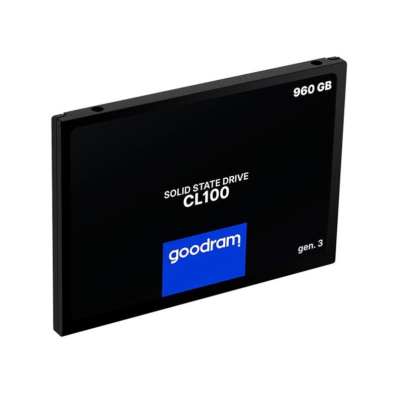 Твердотельный накопитель GoodRAM CL100 Gen.3 960Gb SSDPR-CL100-960-G3