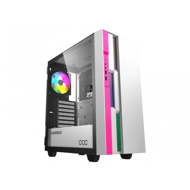Корпус GameMax Brufen C3 WP White-Pink