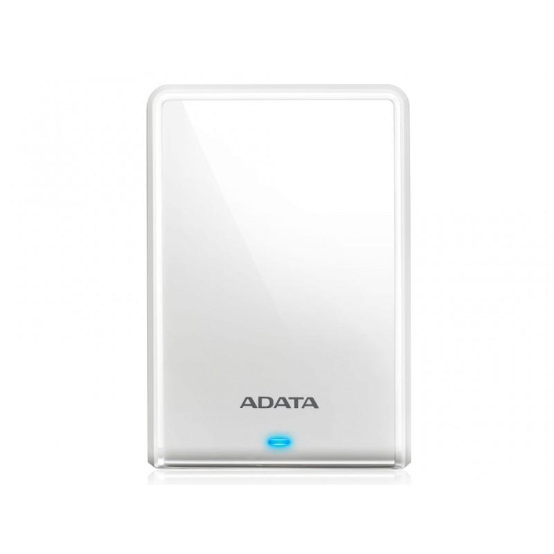 Жесткий диск A-Data HV620S Slim USB 3.1 1Tb White AHV620S-1TU31-CWH