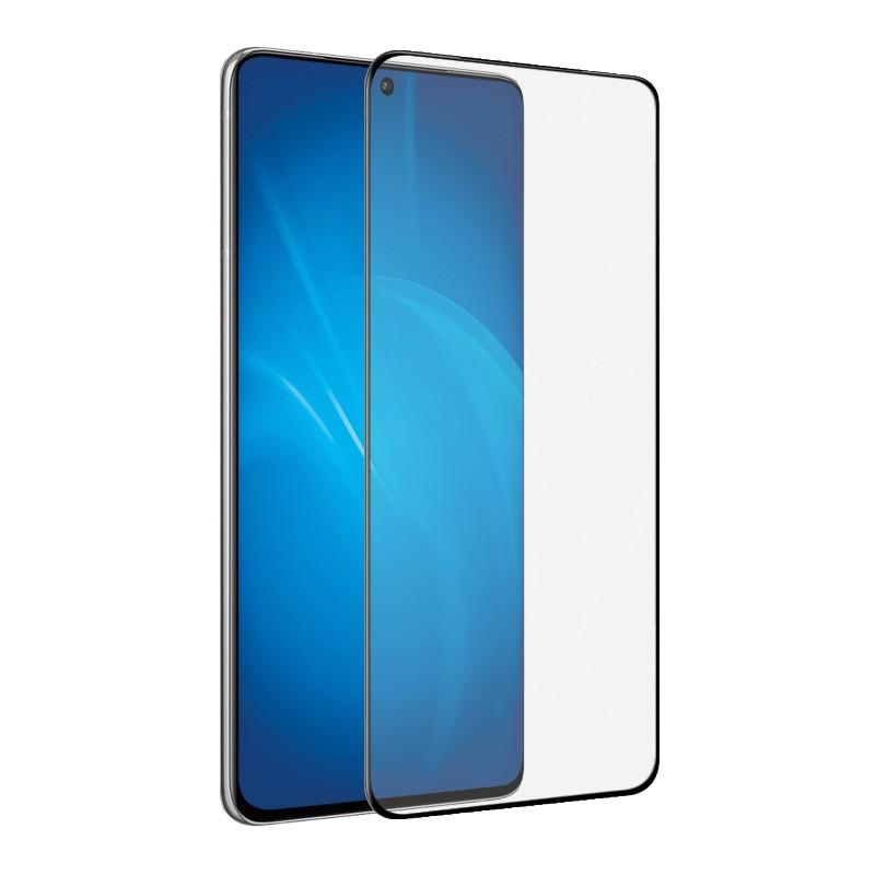 Закаленное стекло DF для Samsung Galaxy S21 Ultra Full Screen 3D Black sColor-114