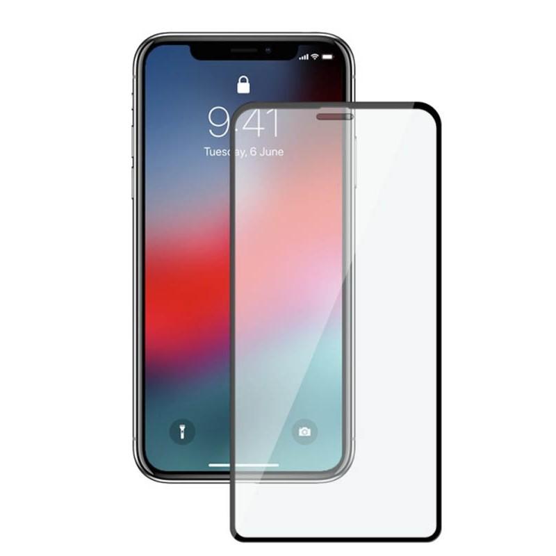 Защитное стекло Mietubl для APPLE iPhone XR 6.1 / iPhone 11 11D Full Glue Black M-595231
