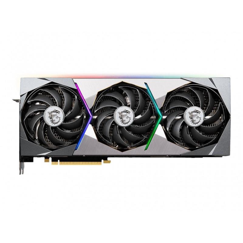 Видеокарта MSI GeForce RTX 3080 Suprim X 10G LHR 1920Mhz 10240Mb 19000Mhz 320bit 3xDP HDMI RTX 3080 SUPRIM X 10G LHR