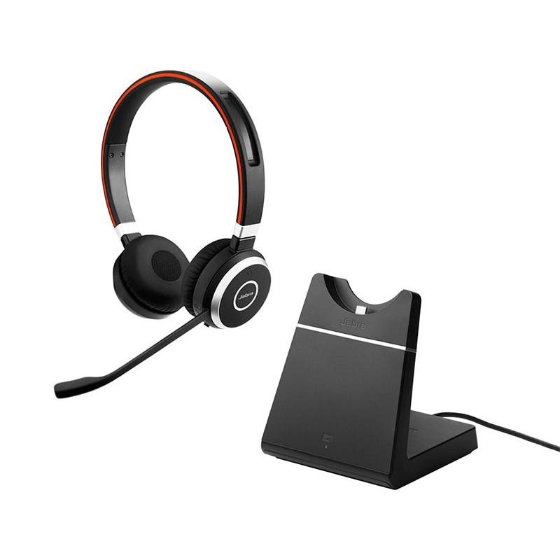 Наушники Jabra Evolve 65 MS Stereo Charging stand Link 360 6599-823-399