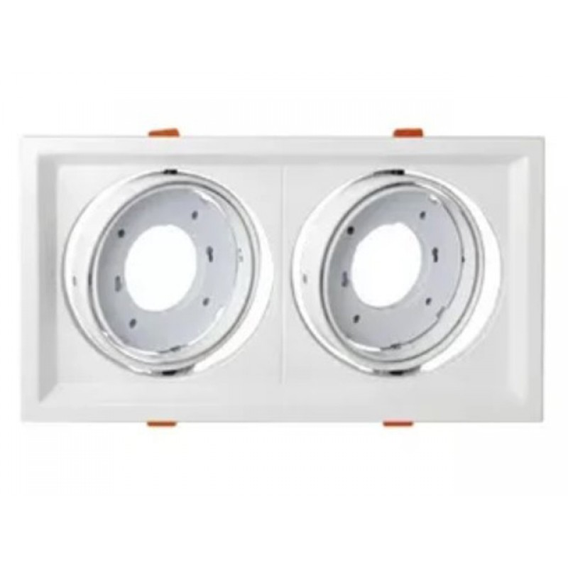 Светильник In Home GX70R-2ST-W 230V White 4690612021607