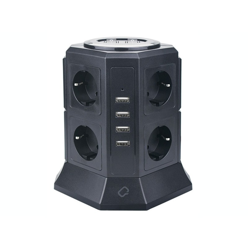 Qumo Power Tower Pro 8SP4U P-0002 8 Sockets 2m 30557