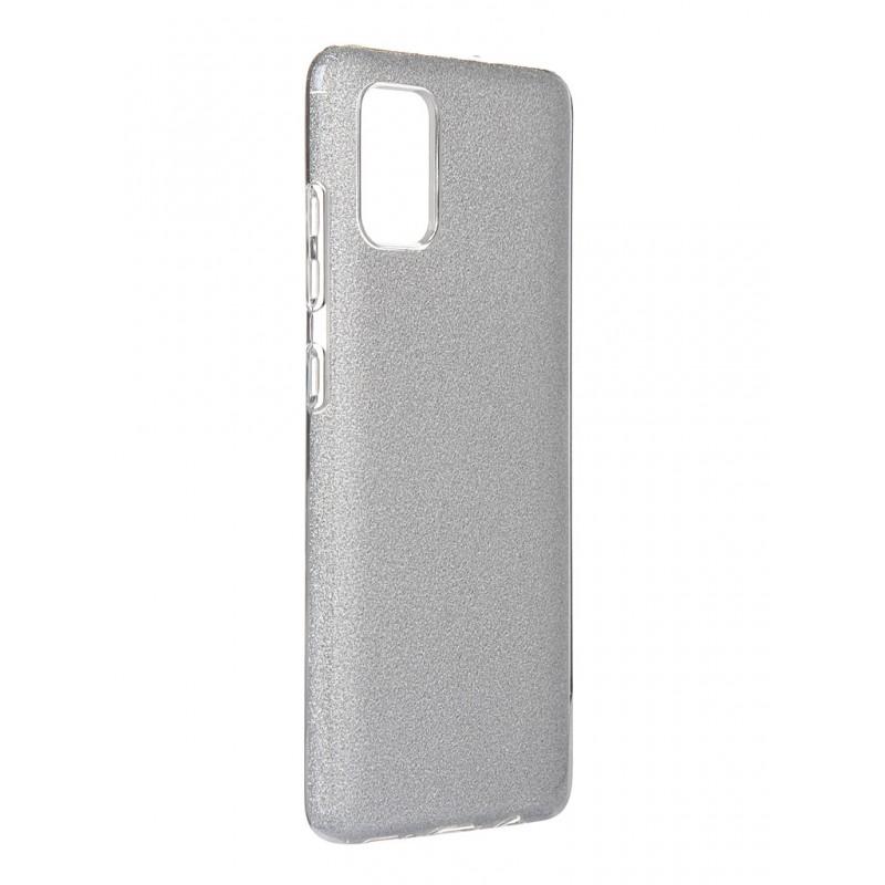 Чехол Neypo для Samsung Galaxy A51 2020 Brilliant Silicone Silver Crystals NBRL16115