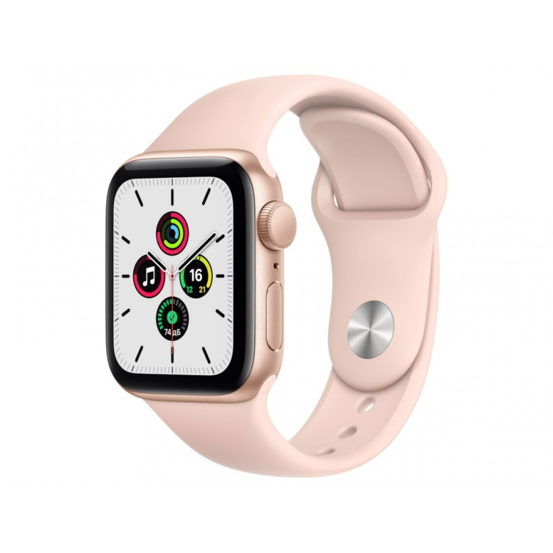 Умные часы APPLE Watch SE 40mm Gold Aluminium Case with Pink Sand Sport Band MYDN2RU/A