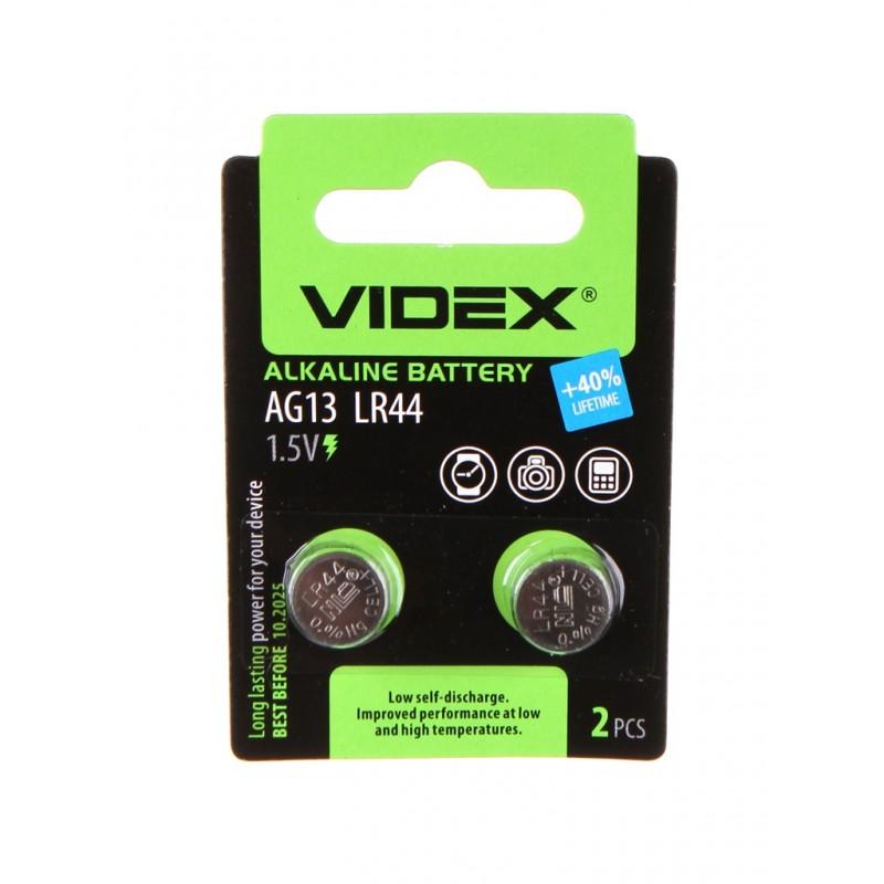 Батарейка LR44 - Videx AG13 2BL (2 штуки)