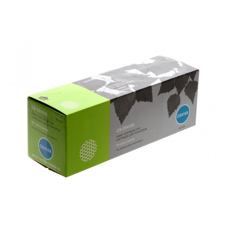 Картридж Cactus CS-CE410X Black для HP CLJ Pro 300/M351/M451/M375/M475