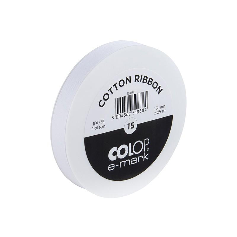 Аксессуар Лента Colop e-mark 15mm x 25m White 58063100/154921