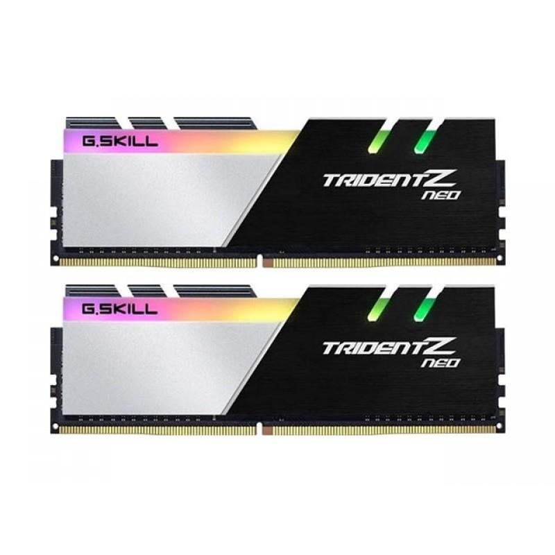 Модуль памяти G.Skill Trident Z Neo DDR4 DIMM 3800MHz PC-30400 CL16 - 32Gb KIT (2x16Gb) F4-3800C16D-32GTZN
