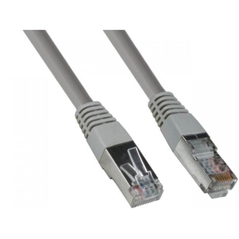 Сетевой кабель ExeGate UTP cat.6 2m Grey EX272313RUS