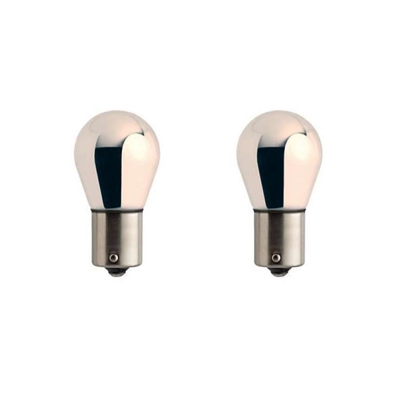 Лампа Philips SilverVision PY21W 12V-21W 12496SVS2 / 12496SVB2 (2 штуки)