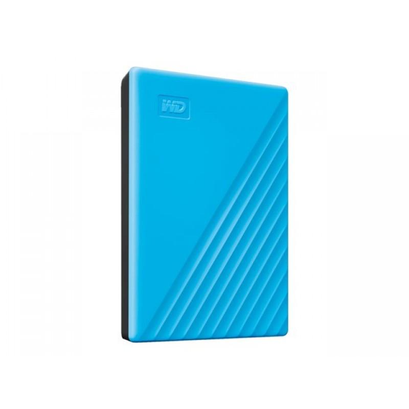 Жесткий диск Western Digital My Passport 2Tb Light Blue WDBYVG0020BBL-WESN